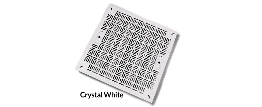Crystal White Chamfer Tile